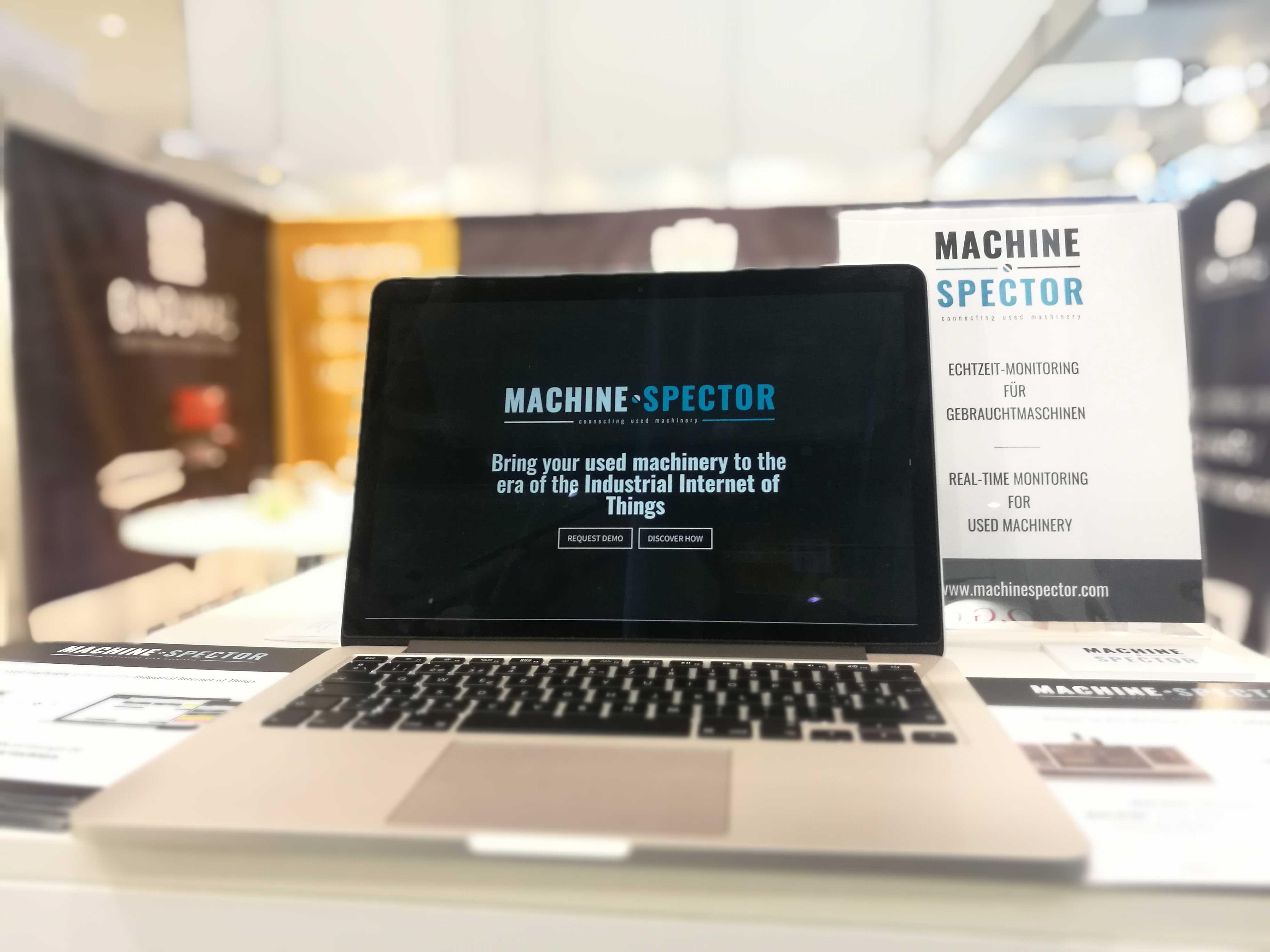 Blechexpo-Booth-MachineSpector