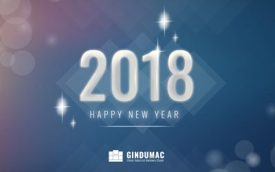 The GINDUMAC Team wishes a Happy New Year 2018