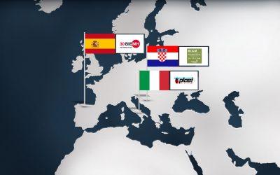 GINDUMAC on European Trade Fair Tour in Spring 2018
