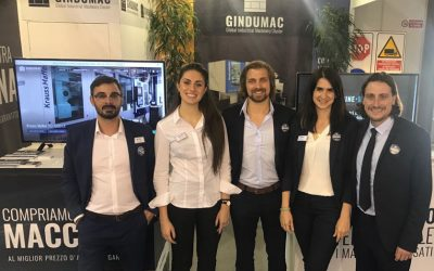 GINDUMAC exhibits successfully at PLAST 2018 in Milan