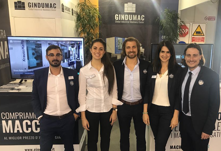 GINDUMAC exhibits successfully at PLAST 2018 in Milan