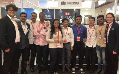 AMTEX 2018: Launch of New GINDUMAC FIBER LASER Cutting Machinery