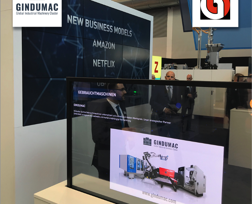 FAKUMA 2018: KraussMaffei relies on GINDUMAC