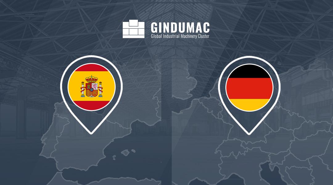 GINDUMAC ahora en alemán y español
