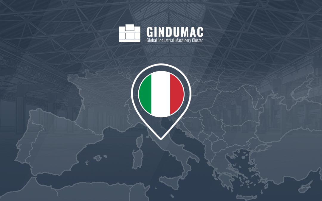 Plataforma GINDUMAC: Exitoso lanzamiento de versión para Italia