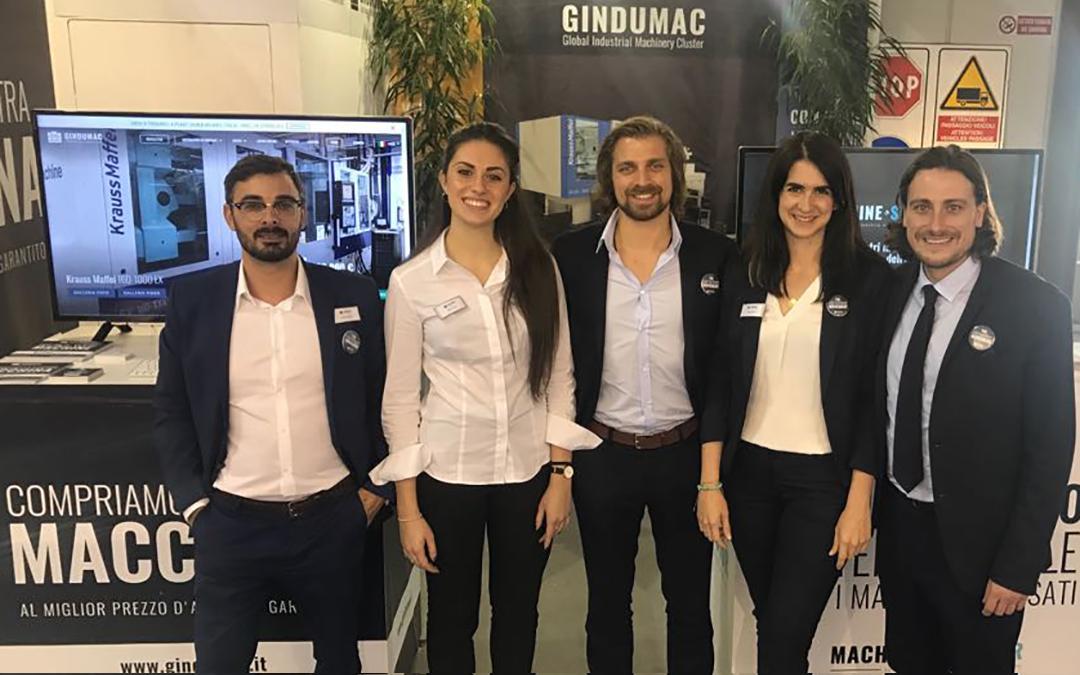 GINDUMAC präsentiert sich erfolgreich auf der PLAST 2018 in Mailand